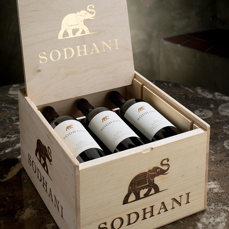 Sodhani Reserve Wooden Box